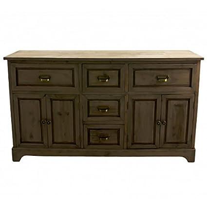 Buffet di sala da pranzo mobili portaoggetti Credenza in legno con ...