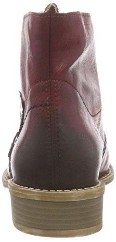 Rieker 72740 - botas de material sintético mujer rojo - Rot (wine/mogano / 35)