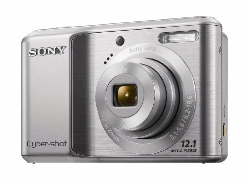 Sony DSC-S2100 12.1MP Digital Camera with 3x Optical Zoom...