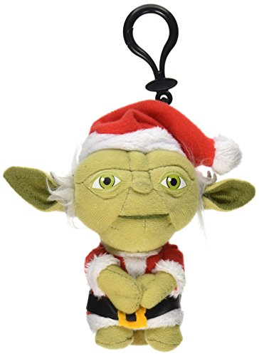 Underground Toys Star Wars Mini Santa Yoda Talking 4