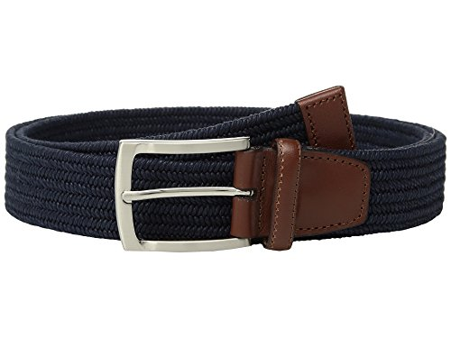 Perry Ellis Men's Perry Ellis Men's Stretch Belt Accessory, -new navy, 36