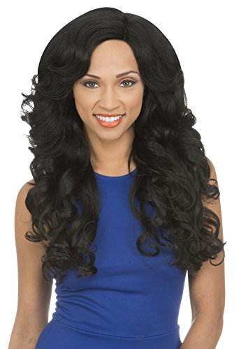 [Lace Front Wig] New Born Free Synthetic Lace Front Wig Curved Part Magic Lace - MLC180 (DYX/ROSE_GOLD)