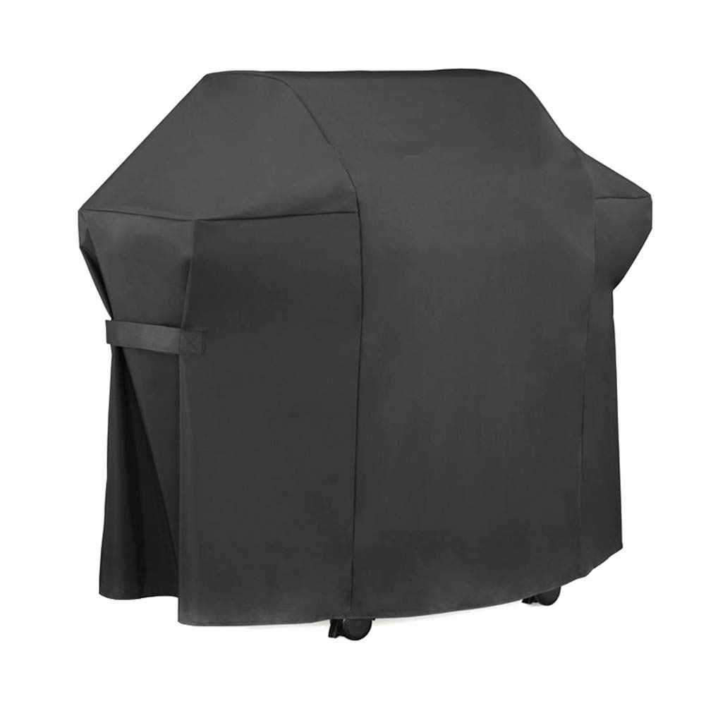 Alaojie BBQ Grill Cover Universal Gas Barbeque Grill Protectors Waterproof Heavy Duty 600D PVC Garden Furniture Cover