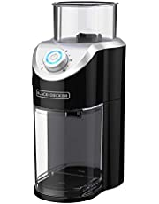 Black & Decker CBM310BD Burr Mill Coffee Grinder, Black