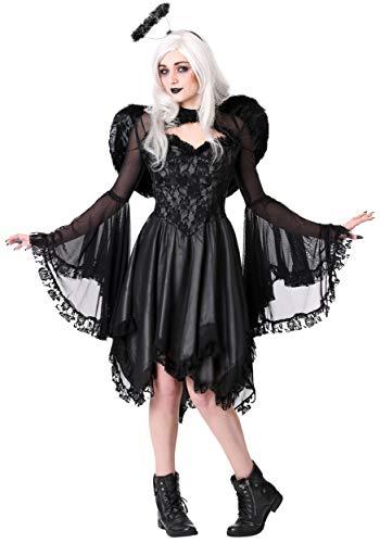 Women's Classic Dark Angel Costume Large