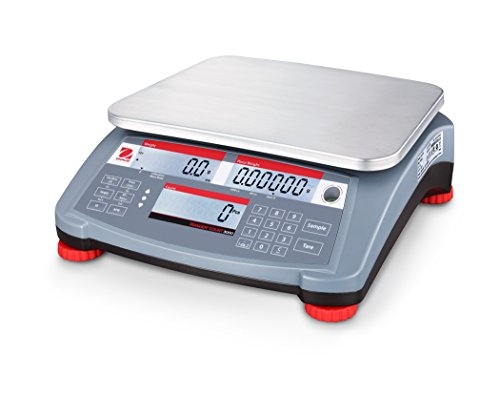 Ohaus RC31P3 Ranger Count 3000 Compact Bench Counting Scale 3kg x 0.1g ()