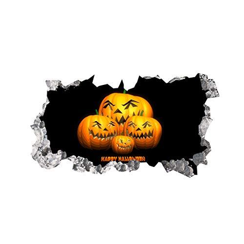 Lchiiu1 2019 Latest Creative Halloween Decorations Wall Stickers