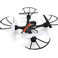 Owill JJRC H33 Mini Drone 2.4Ghz 4CH 6-Axis RC Quadcopter Headless Mode One Key Return Helicopter (Orange)