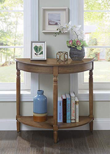 Convenience Concepts 6042182SDFTW French Country Entryway Table, Driftwood