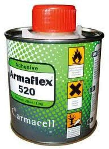 Armaflex 520 Adhesive (0.25ltr) for Armaflex Class O Insulation Sheets and Tubes, 250ml Tin Armacell