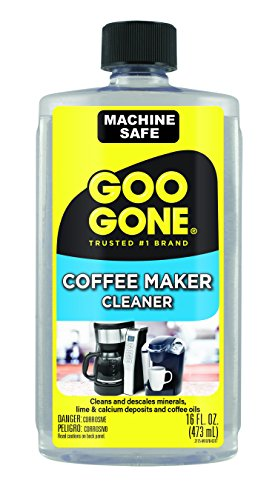Goo Gone Coffee Maker Cleaner - Safely Removes Residue - 16 Fl. Oz. (2175) -