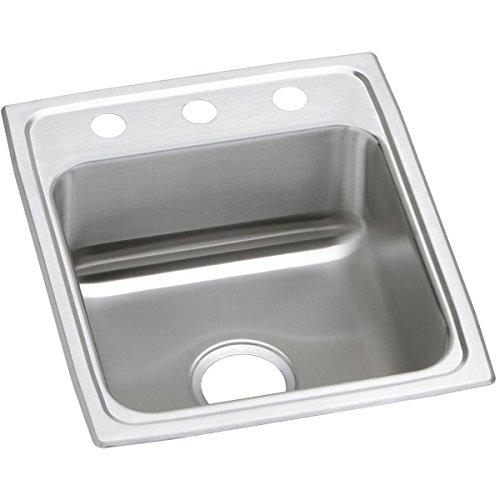 Elkay Celebrity PSR17203 Single Bowl Top Mount Stainless Steel Sink ()