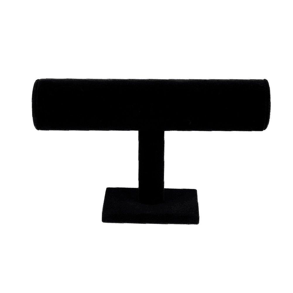 Demiawaking 9.1inch Espositore Porta Braccialetto Gioielli Orologio Supporto Display Stand Organizzatore Rack Grigio 140307