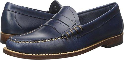 G.H. Bass & Co. Men's Larson Penny Loafer, Blue, 12 M US (Blue Loafers)