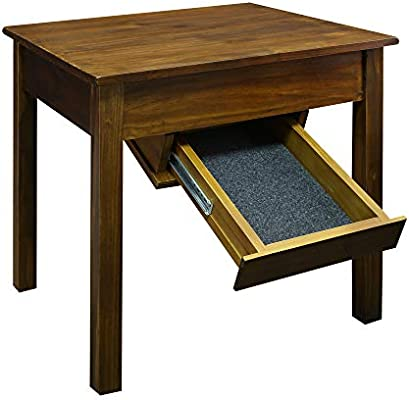 Casual Home 11-11 Kennedy End Table with Concealed Drawer
