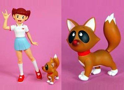Medicom Toy Vinyl Collectible Dolls Esper Mami & Konpoko non-scale PVC painted PVC Figure
