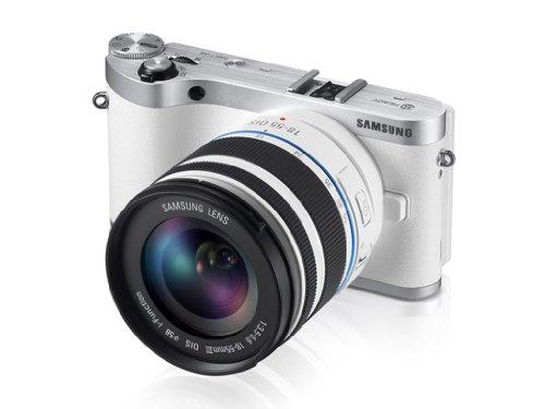 Samsung NX300 スマート Wi-Fi 搭載 デジタルカメラ 20-50mm レンズキット 並行輸入品 (ホワイト)