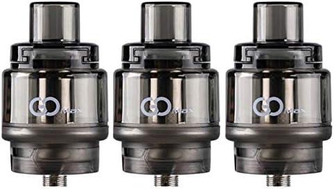 Atomizzatore Tank Mesh coil GOMAX innokin 5,5ml- 3 PEZZI – NON CONTIENE NICOTINA (BLACK)