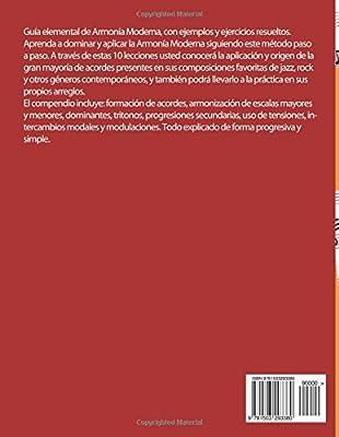 Armonia Moderna Simplificada: Una perspectiva práctica: Amazon.es ...