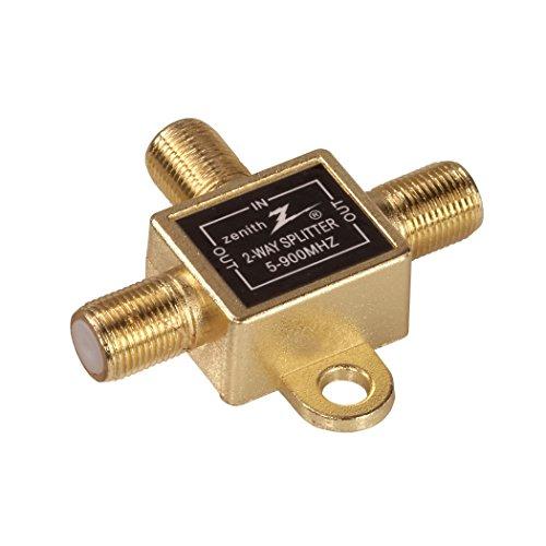 900 Mhz Signal Splitter (AmerTac - Zenith VS1001SP2W TwoWay Coax Splitter 900Mhz)