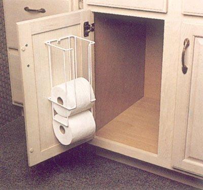 Amazoncom Kv White Wire 4 Roll Toilet Paper Holder Home Kitchen