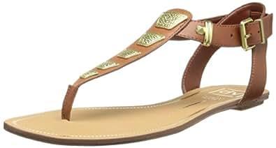 DV by Dolce Vita Women's Avlynn Gladiator Sandal,Cognac,9 M US