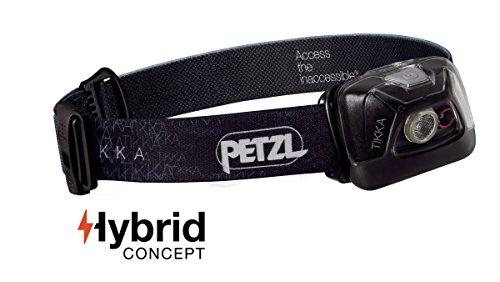 Petzl - TIKKA Headlamp, 200 Lumens, Standard Lighting, Black from Petzl