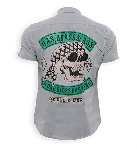 King Kerosin T-Shirt Brooklyn New York Carclub 1948