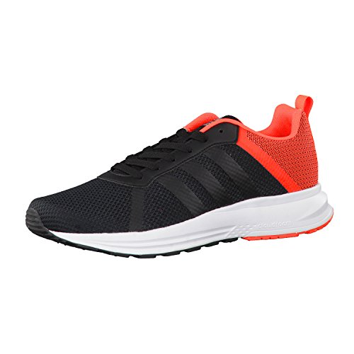 adidas NEO Herren Sneaker CLOUDFOAM MERCURY core black/core black/solar red 42 2/3