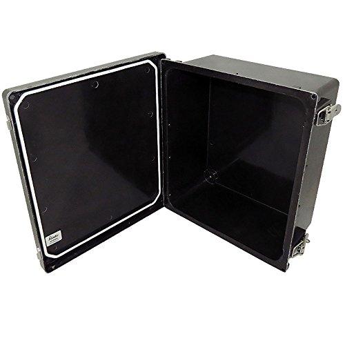Altelix 14x12x6 FRP Fiberglass Stealth Black NEMA Box Weatherproof Enclosure with Hinged Lid & Stainless Steel Latches by Altelix (Image #3)