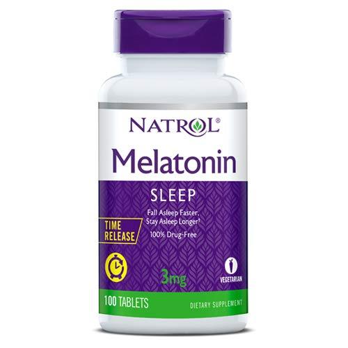 Amazon.com: Natrol Melatonin Time Release - 3 mg - 100 Tablets: Health & Personal Care