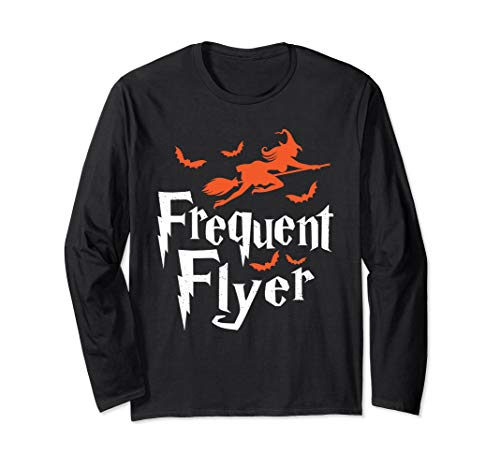 Frequent Flyer Halloween Witch Costume Long Sleeve