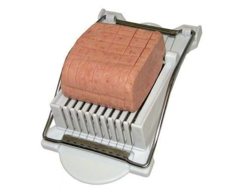 New Easy Spam Musubi Maker & Cutter Luncheon Meat Slicer