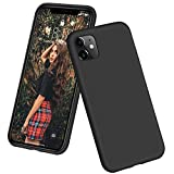 DTTO iPhone 11 Case, [Romance Series] Full Covered Shockproof Silicone Cover [Enhanced Camera and Screen Protection] with Honeycomb Grid Pattern Cushion for Apple iPhone 11 6.1' 2019, Black