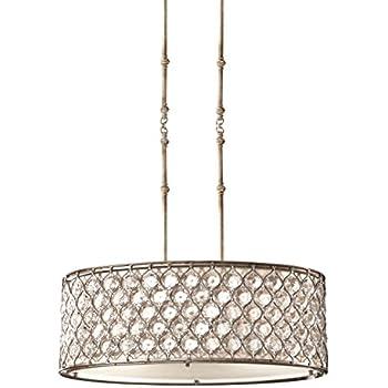 chandeliers lt pendant dining fdb brechers lighting. feiss f25693bus lucia 3light shade pendant burnished silver chandeliers lt dining fdb brechers lighting