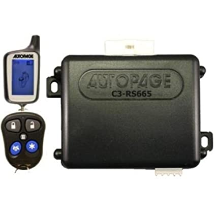 What are the features of AutoPage remote starters?