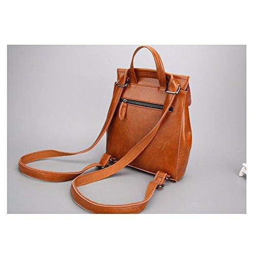Pour Main Femme Polyvalent à Sac Shopping Black AJLBT Casual Mode Rencontres à Sac Dos Corée Sac Rétro Simple vEpZ5q