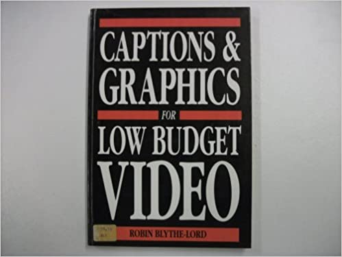 Book Captions and Graphics for Low Cost Video
