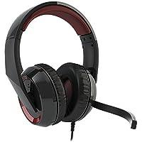 Headset Gamer Raptor HS40, Corsair, Microfones e fones de ouvido, Preto/Vermelho