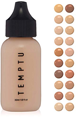 Temptu Perfect Canvas Hydra Lock Foundation: Buildable Coverage Foundation with Semi Matte Finish, Porcelain, 1 Oz