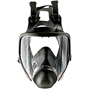 3M Full Facepiece Reusable Respirator 6800/54146, Respiratory Protection, Medium (Pack of 1)