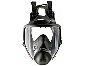 9. 3M Full Facepiece Reusable Respirator 6800