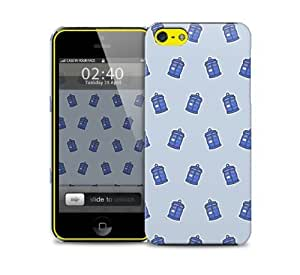 tardis pattern dr who iPhone 5c protective phone case
