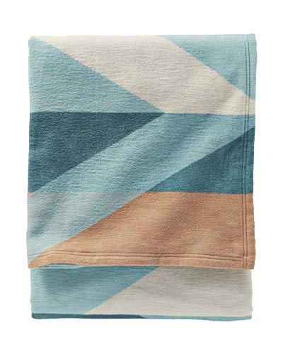 Pendleton Pima Canyon Dusk Organic Cotton Twin Blanket (Pendleton Blanket Cotton)