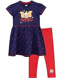 Disney Dumbo Girls Dress & Leggings Set