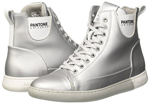 Pantone silver Unisex Altas Tokyo Plateado 02 Adulto Zapatillas vZrqvW8np