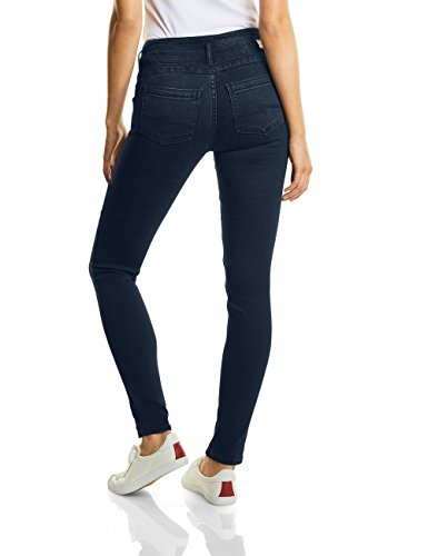 Street Mujer One Slimfit 11103 Denim Overdye Vaqueros Hw Slimleg Blue Blau Ajustados dark Para yoko ApzarnA