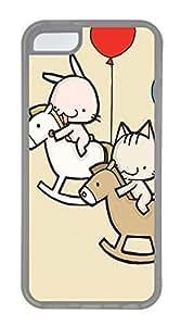 LJF phone case Trojan Love Cases For iphone 4/4s - Summer Unique Cool 5c Cases