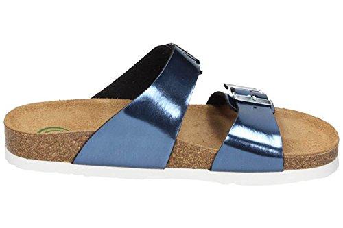 Dr. Brinkmann Damen-Pantolette Blau 701175-5, Grösse 43