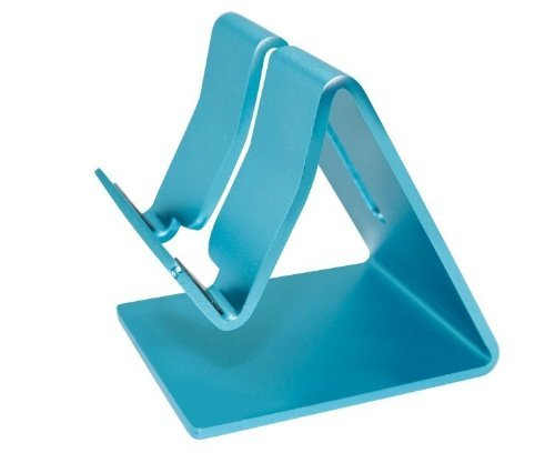 - Aluminum Metal Stand Holder Stander For iPad iPhone Mobile Phone Smart Tab Y365 (New Blue)